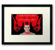 NYCC poster Framed Print