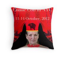 NYCC poster Throw Pillow