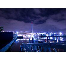 Bolte Bridge Yarra River Photographic Print