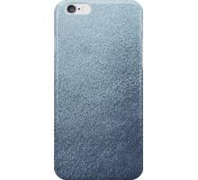 Leather blue background  iPhone Case/Skin