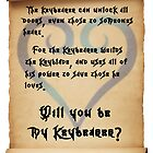 My Keybearer by Brittany Westbrook