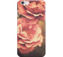 Pink Vintage Roses iPhone Case/Skin