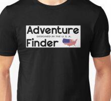 Adventure Finder American Flag Unisex T-Shirt