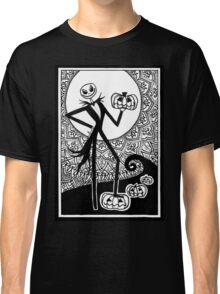 Jack Skellington Mandala Classic T-Shirt