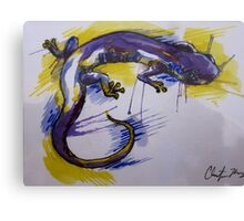 Salamander Burst Canvas Print