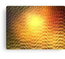 Heatwaves Canvas Print