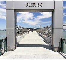 pier 14 Photographic Print