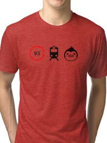 Mawaru Penguindrum Tri-blend T-Shirt