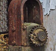 Old Machinery Found in Wisconsin Dairy Barn by Martha Sherman