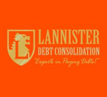 LANNISTER DEBT CONSOLIDATION Kids Clothes