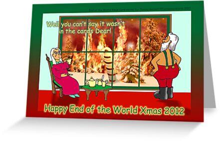 Happy End of the World Xmas 2012 - Santa's dilemma 03  by TommyRocket