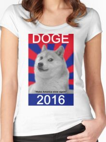 Doge 2016 Women's Fitted Scoop T-Shirt