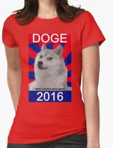Doge 2016 Womens Fitted T-Shirt