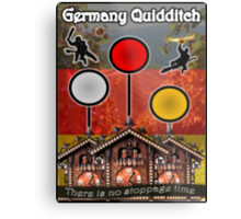 Germany Quidditch Redesigned  Metal Print