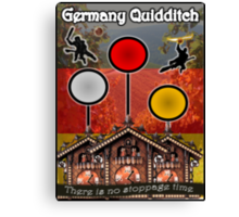Germany Quidditch Redesigned  Canvas Print