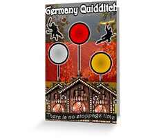 Germany Quidditch Redesigned  Greeting Card
