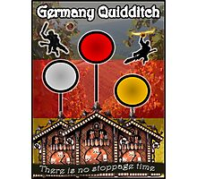 Germany Quidditch Redesigned  Photographic Print