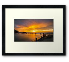 Passion in the Sky Framed Print
