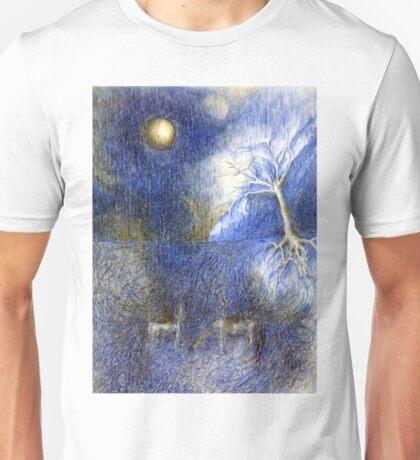 In Night On Meadow Unisex T-Shirt