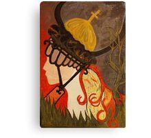 the crusader Canvas Print