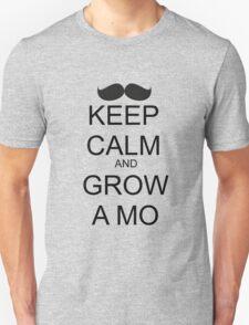 KEEP CALM AND GROW A MO T-Shirt