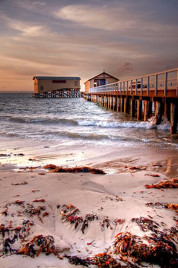 Early Morning at Queenscliff (2) by Christine Smith