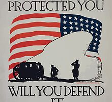 It protected you will you defend it by wetdryvac