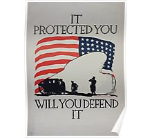 It protected you will you defend it Poster