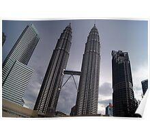 Kuala Lumpur City, Malaysia Poster
