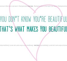 1D - What makes you beautiful by Videla