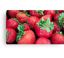 Strawberry Anyone... Canvas Print