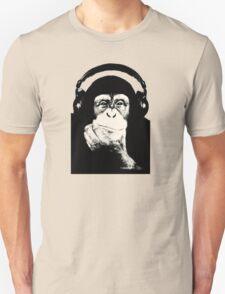 Headphones Chimp T-Shirt