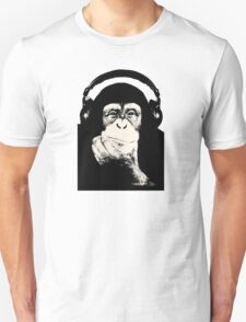 Headphones Chimp T-Shirt