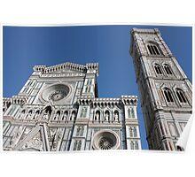 Florence, Basilica di Santa Maria del Fiore Poster
