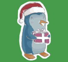christmas penguin! One Piece - Short Sleeve