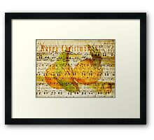 Darling Clementines for Christmas Framed Print
