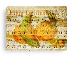 Darling Clementines for Christmas Canvas Print