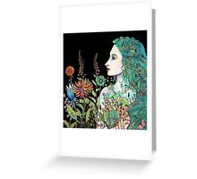 her garden Greeting Card