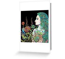 her garden Greeting Card