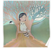 Love of a Girl and her Owl Poster