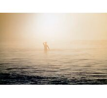 Morning Fog in Albany Photographic Print