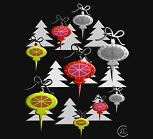 """Mid-Century Swedish Ornaments Tall""© Womens Fitted T-Shirt"
