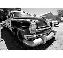 Seligman Police Car Photographic Print