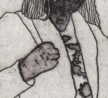 The Faceless Woman Sticker