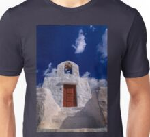 Small traditional Greek chapel Unisex T-Shirt