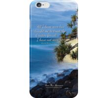 Trust iPhone Case/Skin