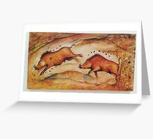 BOARS Greeting Card