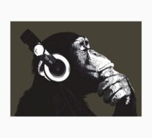 Quizical Headphone Chimp by Atomic5