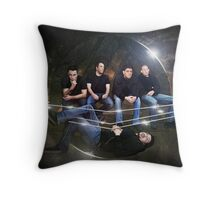 The Scrap Pack Throw Pillow