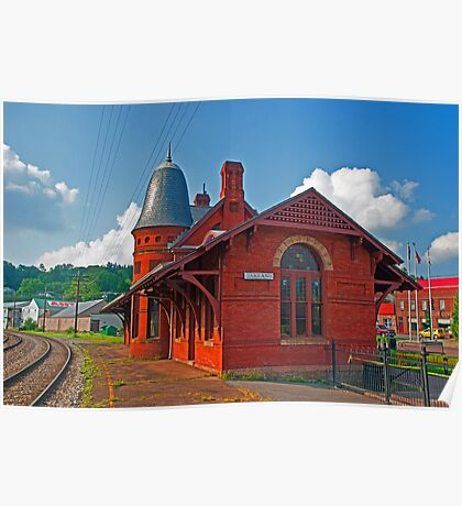 The Baltimore & Ohio Station, Oakland, Maryland Poster